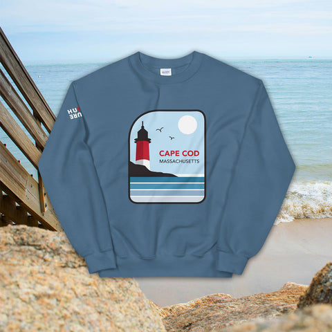 Cape Cod Massachusetts - Crew Neck Sweatshirt - Unisex