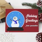 2020 Pandemic Holiday Cards - Set of 8 - Blank Inside