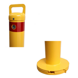 90mm Surface Mount Removable Bollard-