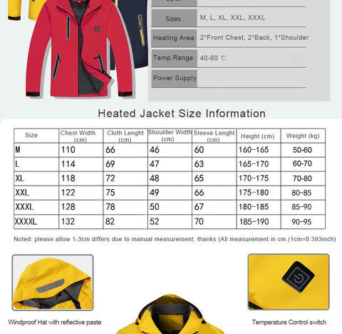 bubus fashion heated jackets ski