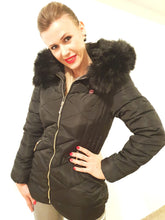 Load image into Gallery viewer, BUBUS ULTRA SEMI LONG CASUAL COAT WITH FUR