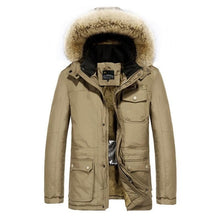 Load image into Gallery viewer, MEN SMART HEATED WINTER COAT