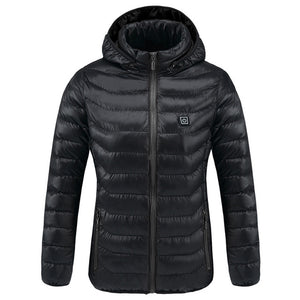 BUBUS HEATED DOWN JACKET FOR WOMAN