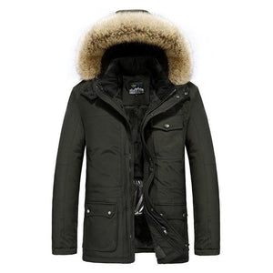 MEN SMART HEATED WINTER COAT