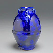"Load image into Gallery viewer, Edo Jar in Midnight Blue, 6""h"