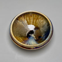 "Load image into Gallery viewer, Ice Cream Bowl in Copper Penny and Ash Glazes, 5.75""dia. (Ben Owen III)"