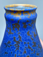 "Load image into Gallery viewer, Gourd Flower Vase in Stardust Blue, 9""h (Ben Owen III)"