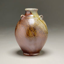 "Load image into Gallery viewer, Edo Jar in Copper Penny and Ash, 9.25""h"