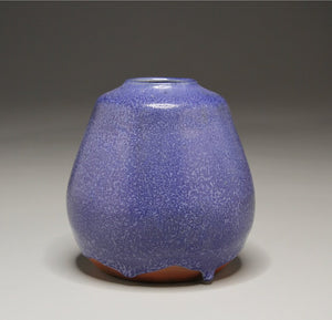 "Pear Vase in Cobalt Blue, 6""h"
