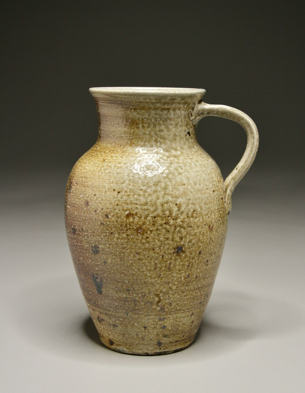 Milk Jug in Salt Glaze, 9.25