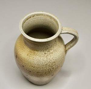 "Milk Jug in Salt Glaze, 9.25""h"