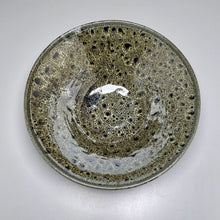 "Load image into Gallery viewer, Large Bowl #2 in Black and White Glaze, 12.25""dia."
