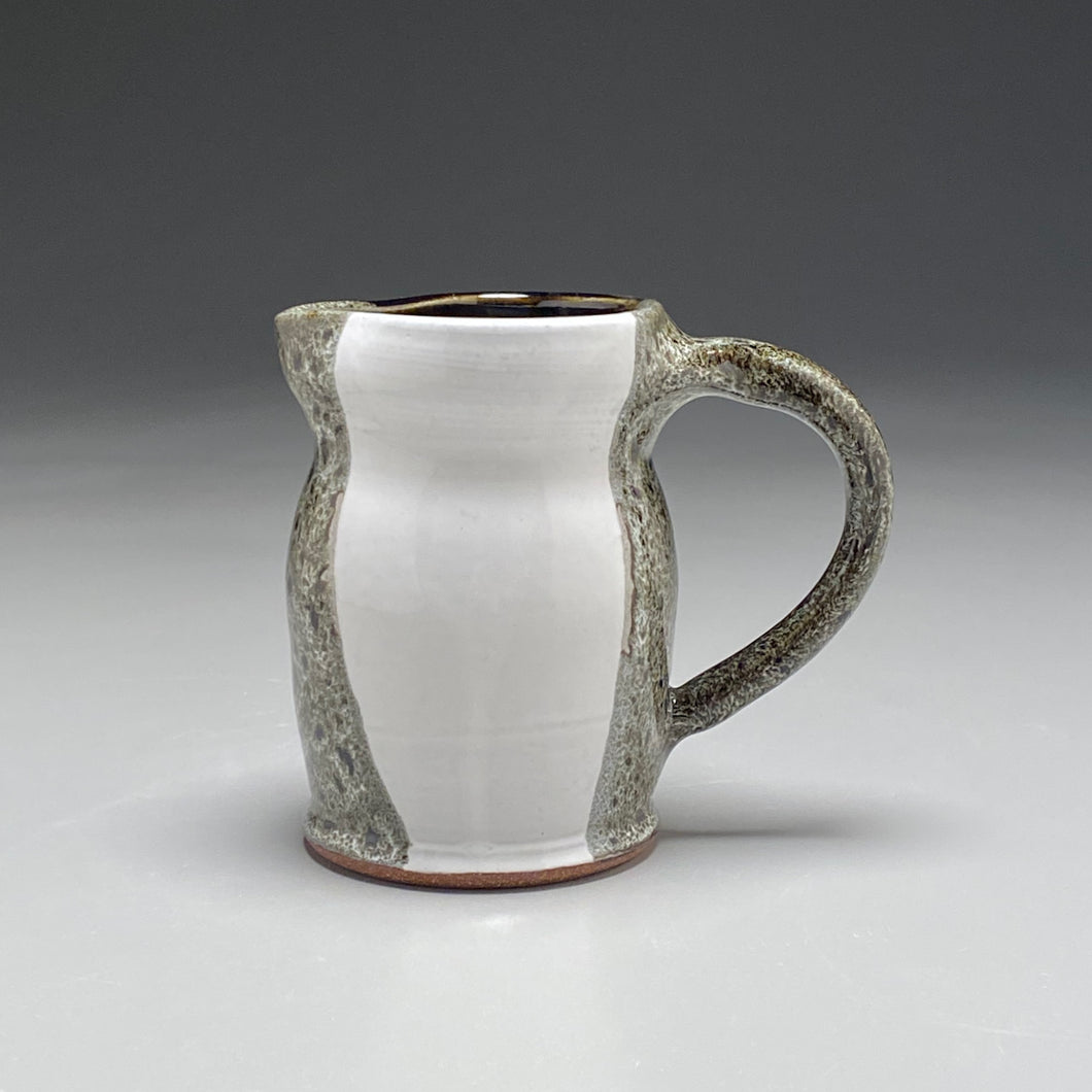 Small Pitcher in Yin-Yang Glaze, 5.25