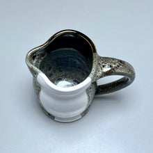 "Load image into Gallery viewer, Small Pitcher in Yin-Yang Glaze, 5.25""h"