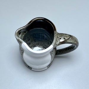 "Small Pitcher in Yin-Yang Glaze, 5.25""h"