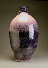 "Load image into Gallery viewer, Two-Handled Vase in Nebular Purple, 36""h (Ben Owen III)"