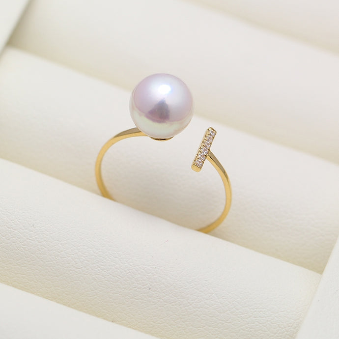 Sparkle Pearl Ring