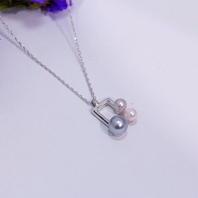 MusicNote Pearl Chain Necklace