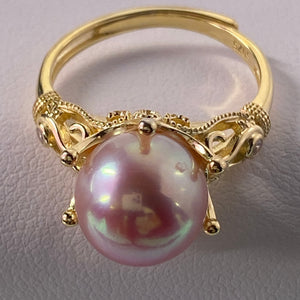 Crown Pearl Ring