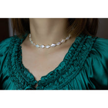 Load image into Gallery viewer, Rhombus Baroque Pearl Choker and Bracelet Set