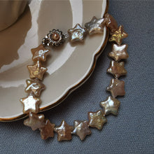 Load image into Gallery viewer, Star Shape Baroque Choker Earrings Set