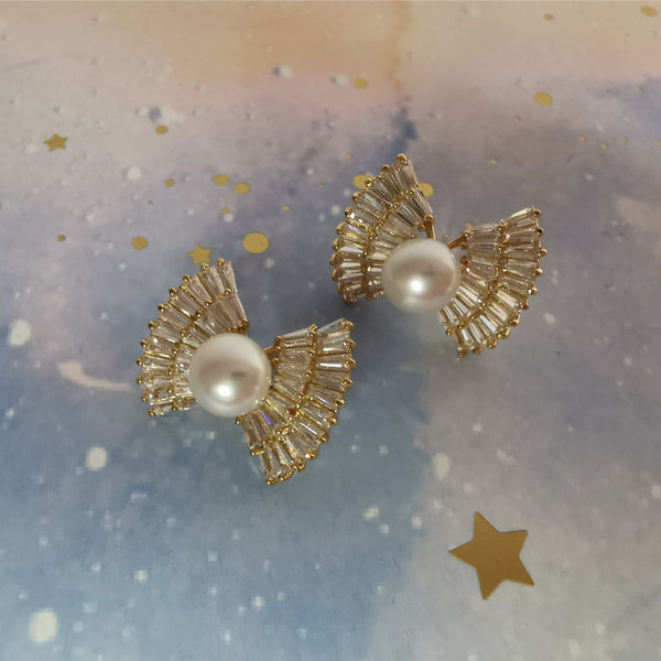 Boucles d'oreilles Diamond Candy Pearl