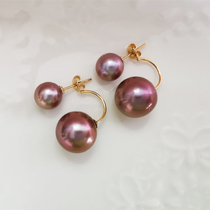 Double Pearl Classic Earrings