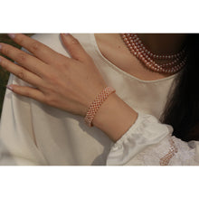 Load image into Gallery viewer, Watch Clasp Baby Pearl Bracelet