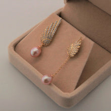Load image into Gallery viewer, Asymmetry Feather Earrings