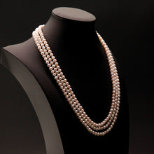 Load image into Gallery viewer, 47'/ 120cm Long Pearl Necklace