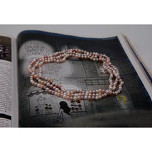 Load image into Gallery viewer, Mixed Candy Color 45'/ 115cm Long Pearl Necklace