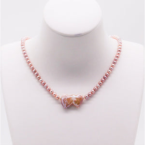 Heart 2 Heart Pearl Necklace