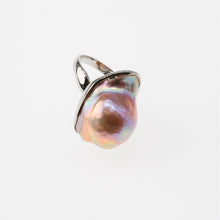 Load image into Gallery viewer, Rainbow Baroque Pearl Ring