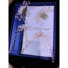 Load image into Gallery viewer, Wedding Hair Sets and Brooches