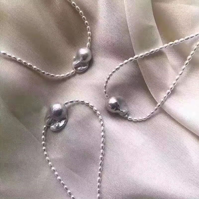 Fantasia Pearl Necklace