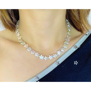 Star Shape Baroque Choker Earrings Set