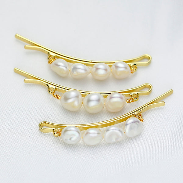 Baroque Pearl Hair Pins