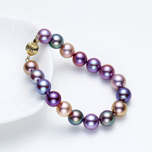 Load image into Gallery viewer, Ambilight Pearl Necklace & Bracelet Set