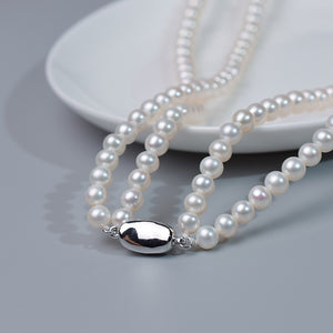 Duo Pearl Necklace