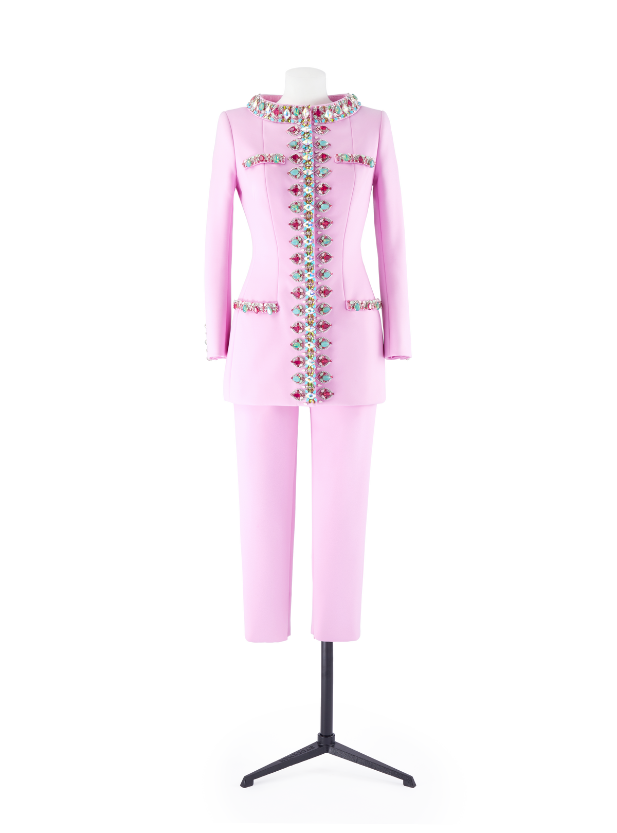 Bubble Gum Pink Tailored Suit