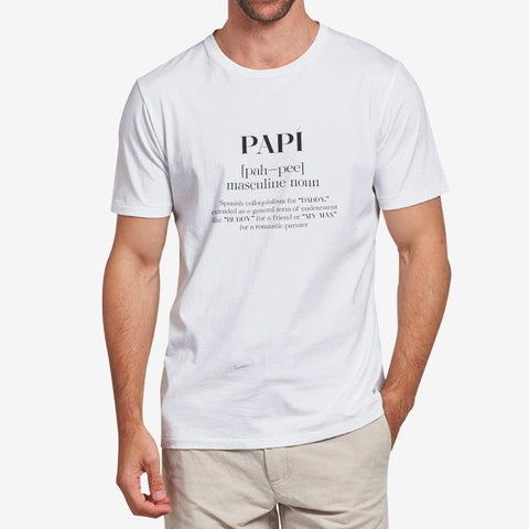 Papi — White T-shirt