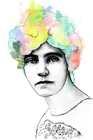Alice Paul Portrait Art Print