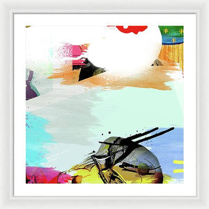 Pop Wave - Framed Print