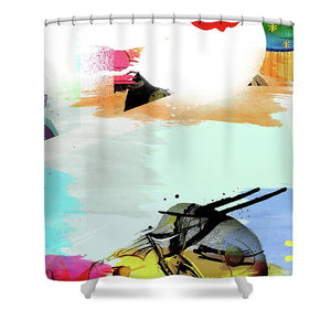 Pop Wave - Shower Curtain