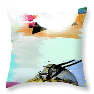 Pop Wave - Throw Pillow