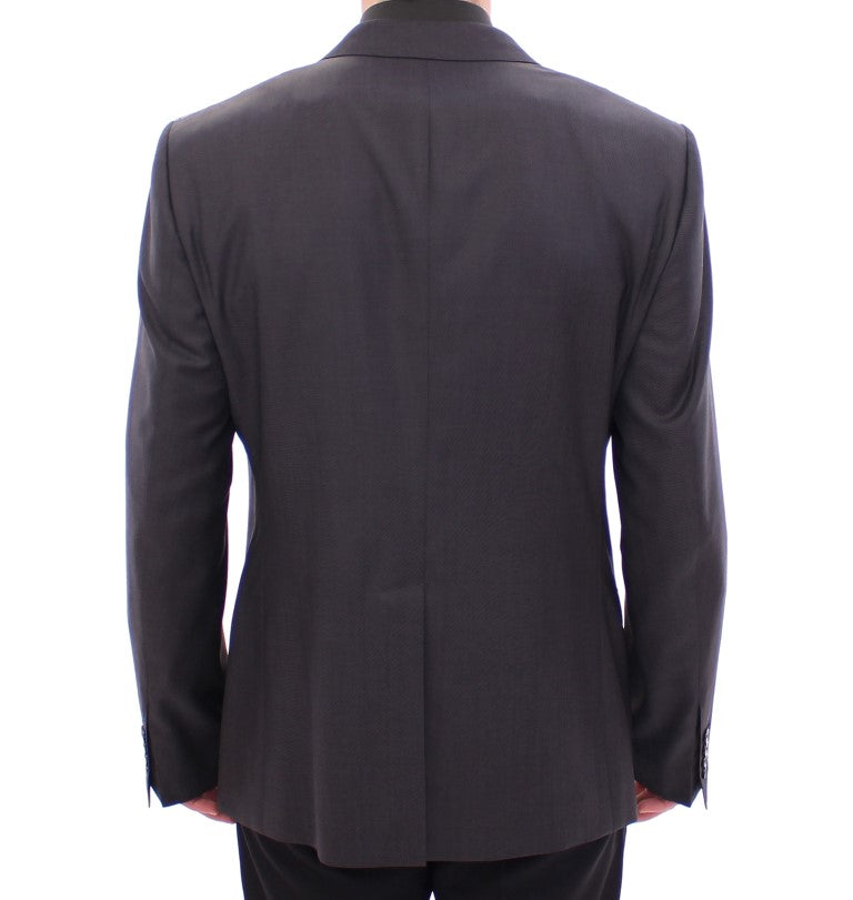 Gray slim fit MARTINI wool blazer