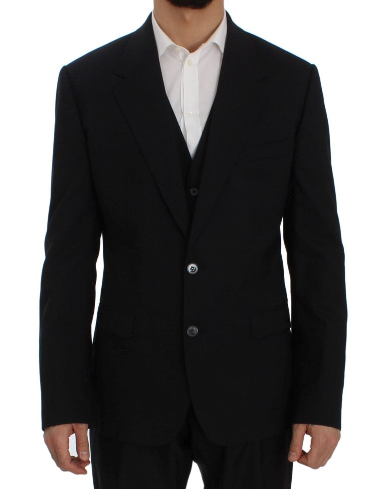Blue Wool Stretch SICILIA Blazer