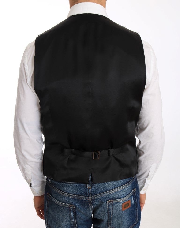 Black Velvet Formal Cotton Vest