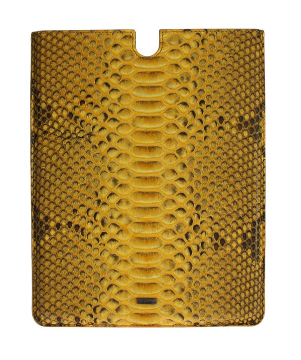 Yellow Snakeskin P2 Tablet eBook Cover