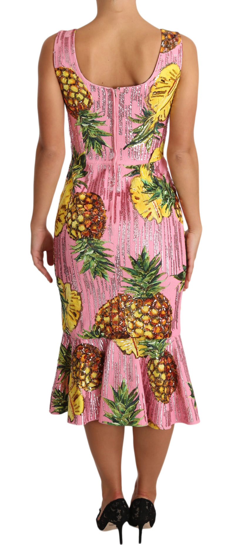 Pink Pineapple SPECIAL PIECE Midi Dress